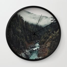 When the sky touch the wild Wall Clock