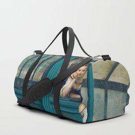 morning glory Duffle Bag