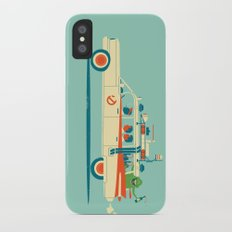 Party in the Back iPhone X Slim Case