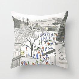 ross common Throw Pillow