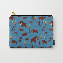 Stone age - Fabric pattern Carry-All Pouch