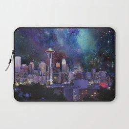 Spacey Seattle Laptop Sleeve