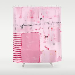 it seemed like a good idea at the time Shower Curtain