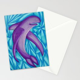 Purple Fin - Mazuir Ross Stationery Cards