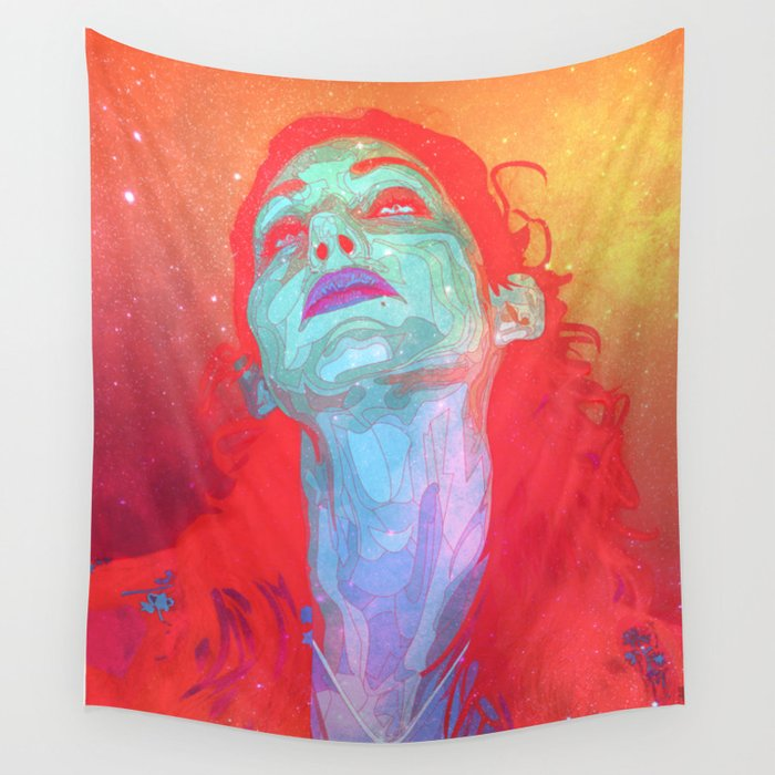 Grow Galactic Wall Tapestry
