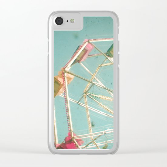 Big Wheel Clear iPhone Case