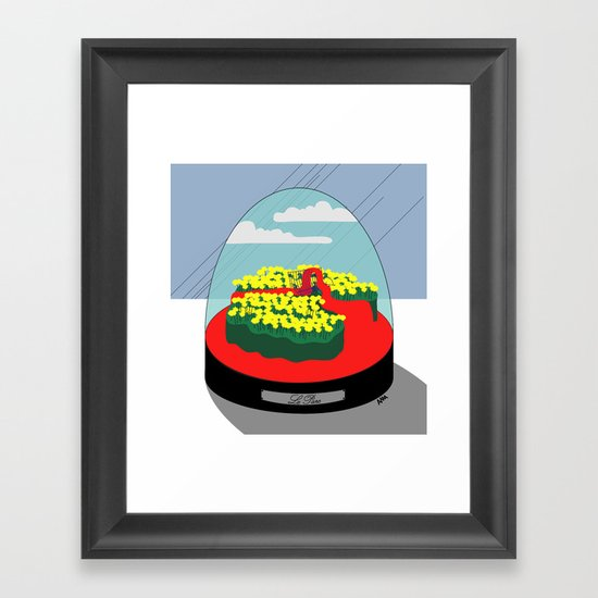 Le Parc Framed Art Print