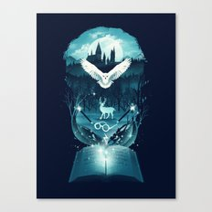 Book of Fantasy Canvas Print
