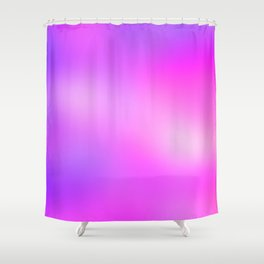 Pink Cosmic Gradient Shower Curtain