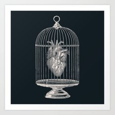 Free My Heart Art Print