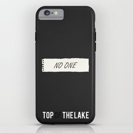 Top of the Lake - Minimalist iPhone Case