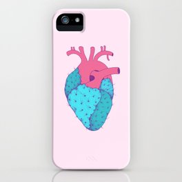 Cactus Heart iPhone Case
