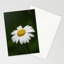 daisy in the rain Stationery Cards