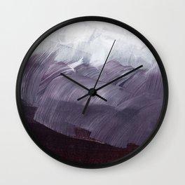 brushstrokes 15 Wall Clock