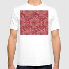 Pinky Mens Fitted Tee MEDIUM White
