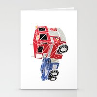 optimus prime Stationery Cards featuring The Optimus Prime by Josh Ln