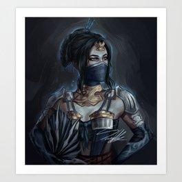 Princess of Edenia Art Print