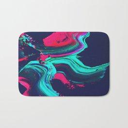 Neon abstract #FEELING Bath Mat
