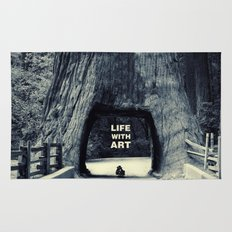 Life WITH art & Life without Rug