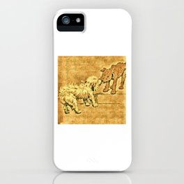 Dogs Large and Small, Ideal for Dog Lovers (24) iPhone Case