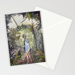The Greenhouse Illustration  Stationery Cards