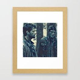 Angel & Hunter Framed Art Print