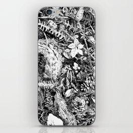 Inky Undergrowth iPhone Skin