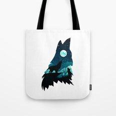 Wolf on top II Tote Bag