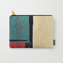 minimal painting, colours abstract bright Carry-All Pouch