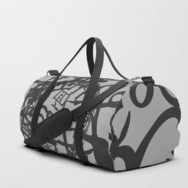 Black & White Duffle Bag