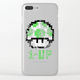 1-UP Clear iPhone Case