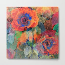 Floral abstract(62) Metal Print