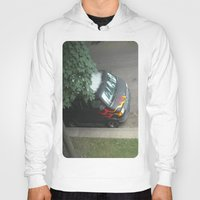 70s Hoodies featuring Smokin'! ~ 70s-ish van by helene smith photography