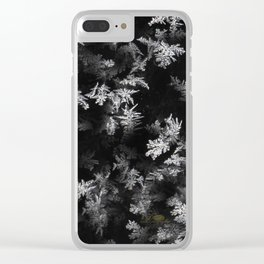 Ice Effect Clear iPhone Case
