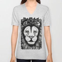Maned Lion King Unisex V-Neck