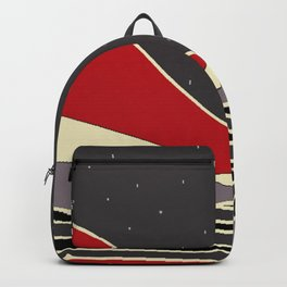 Unearthly Mountainscape Backpack