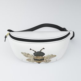 Heart Rock Bumble Bee Fanny Pack
