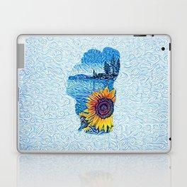 Lake Tahoe Sunflower Laptop & iPad Skin