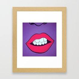 Growler Framed Art Print