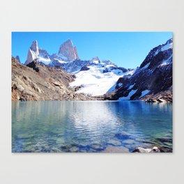 Laguna de los Tres Canvas Print