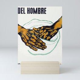 Las Manos del Hombre Movie Poster from Puerto Rico Mini Art Print