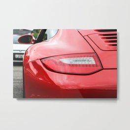 Porschee Flashlight Metal Print