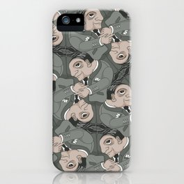Posh*Usher tessellation iPhone Case