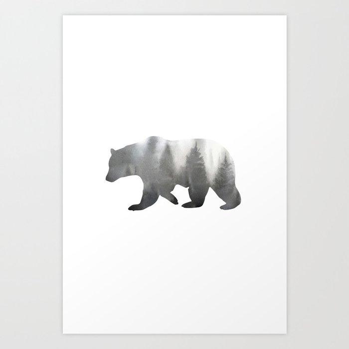 Descubre el motivo BEAR de Art by ASolo como póster en TOPPOSTER