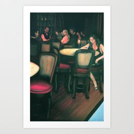 At the Madison: The Competitor Art Print
