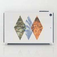 planes iPad Cases featuring Three Planes by Thomas Hansen
