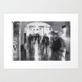 La Vasca - San Pietro, Reggio Emilia Art Print