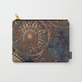 Steampunk Mandala Carry-All Pouch