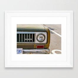 Vintage International Framed Art Print