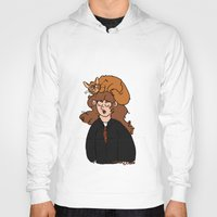 hermione Hoodies featuring Hermione and Crookshanks  by zoosemiotics